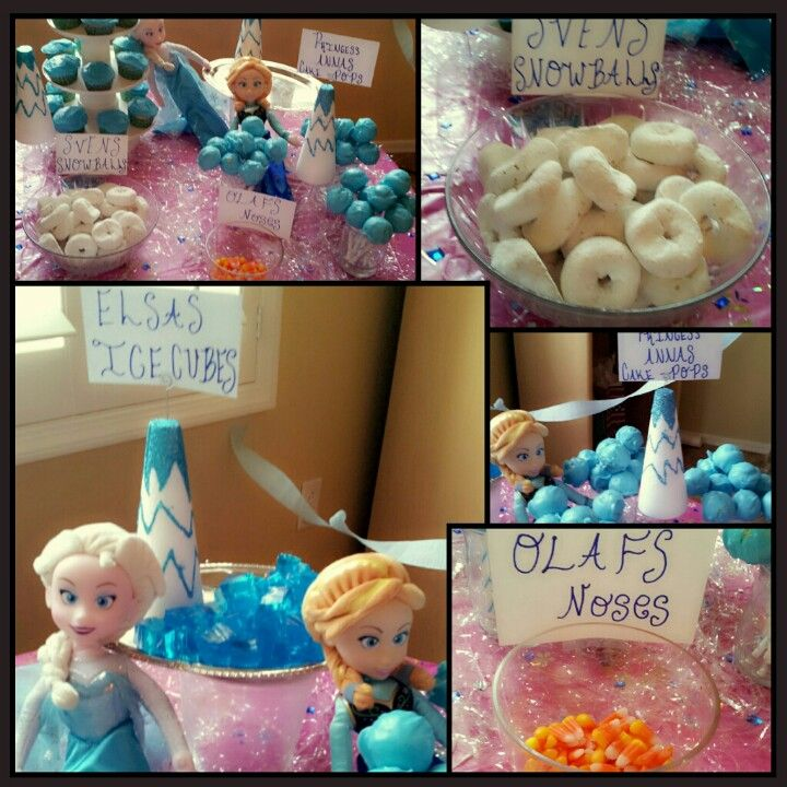 246 Best Images About Savannah's Frozen Bday Party On Pinterest