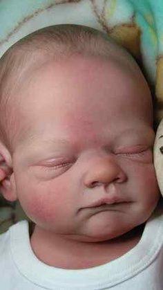 reborn baby hair painting - Buscar con Google