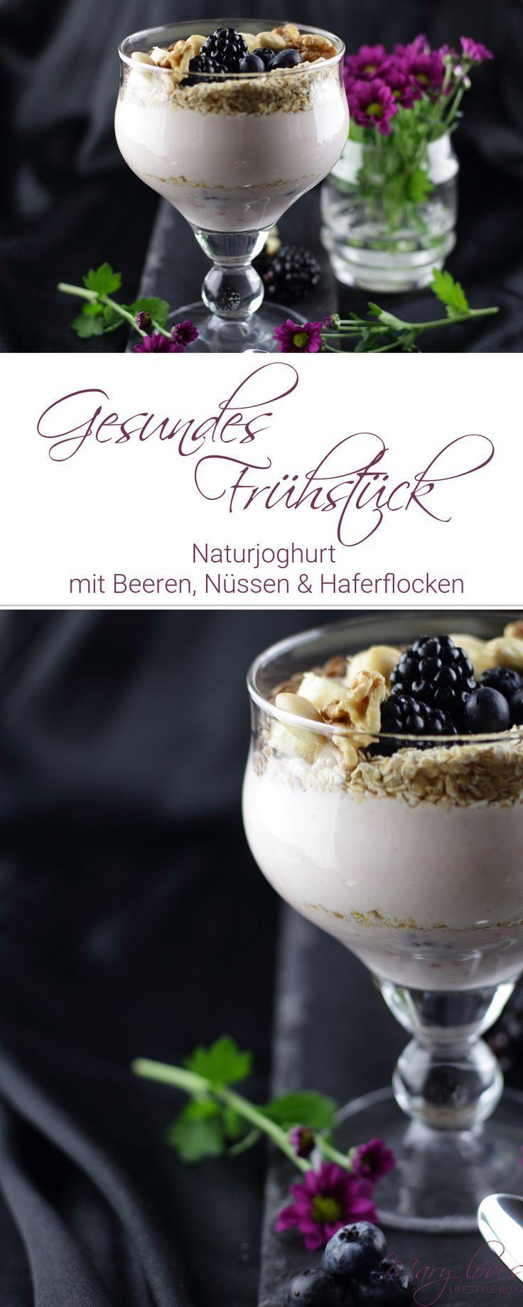 Gesundes Frühstück – Naturjoghurt mit Beeren und viel Energie – #fr …  – Deutschsprachige Elternblogger {Das Leben mit Kindern}