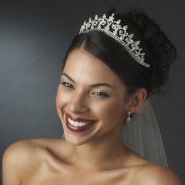 Bridal tiara Riah - Georgia Dristila Accs