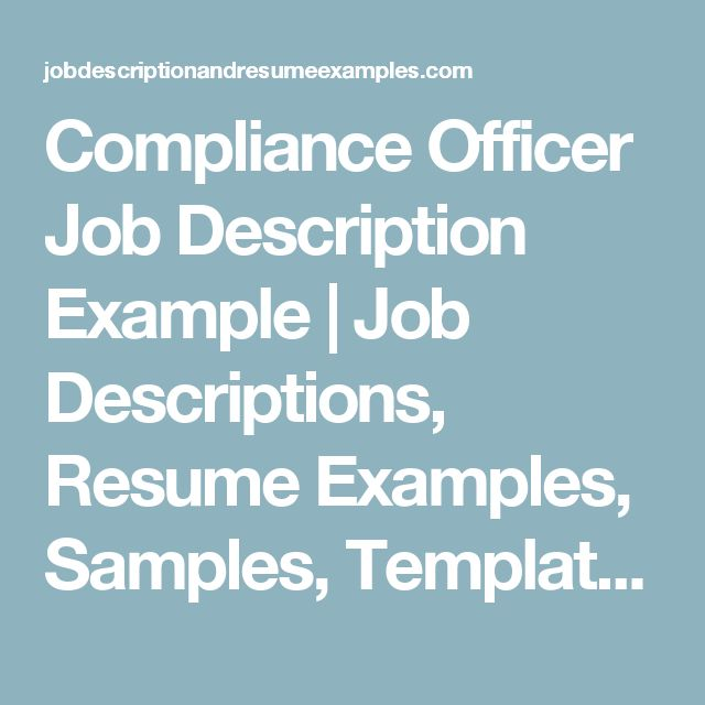 23 best Compliance images on Pinterest Funny stuff, Gym and Work - legal compliance officer sample resume