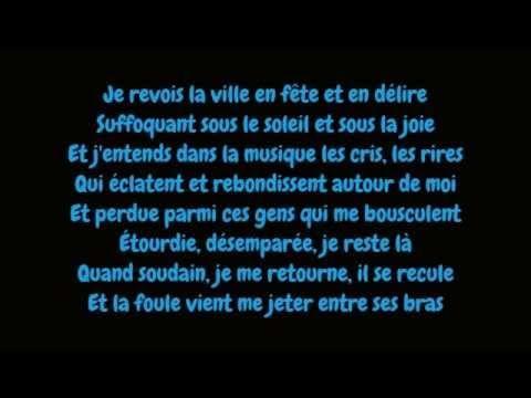 Edith Piaf - La foule (Lyrics/Paroles HD) - YouTube