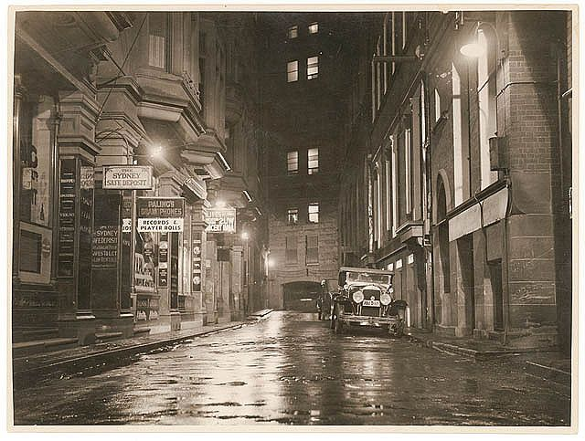 Sydney, Australia: Angel Place in the 1930s