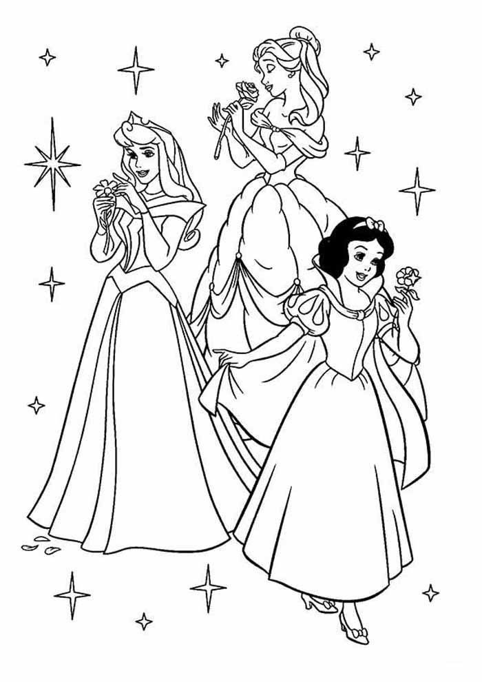 Coloring Page Of Princess Youngandtae Com In 2020 Disney Princess Coloring Pages Princess Coloring Pages Disney Princess Colors