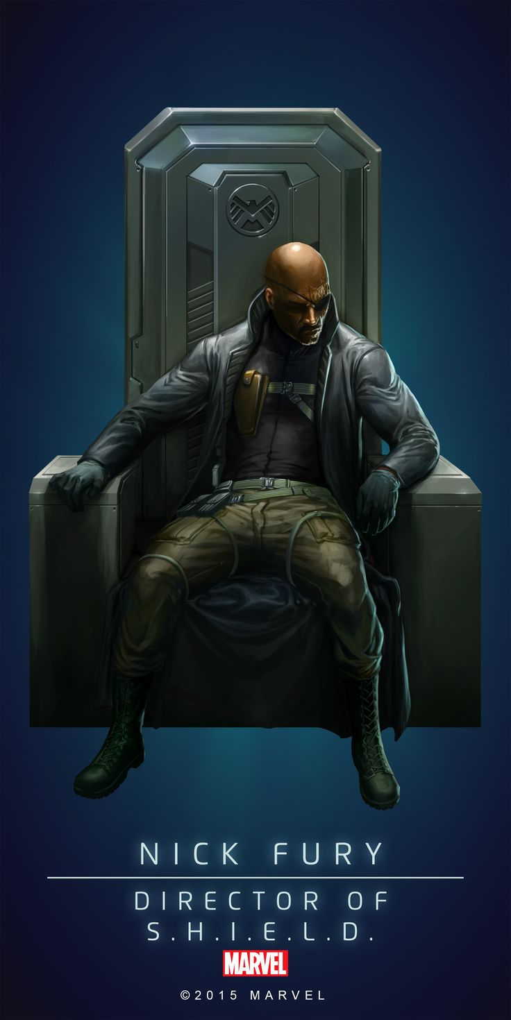 Nick_Fury_Poster_02.png (PNG Image, 2000 × 3997 pixels)