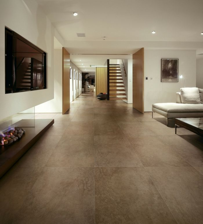 Bodenfliesen Keramische Fliesen Weisse Wnde Wohnzimmer