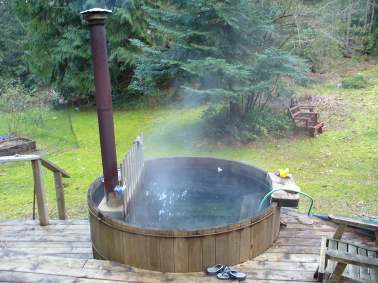 361 best Wood Fire Hot Tubs! Yes Please! images on Pinterest | Hot ...
