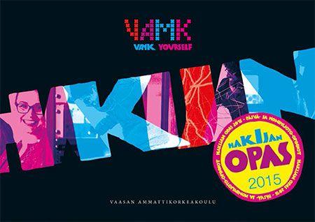 Hakijan opas -brochure of 2015.