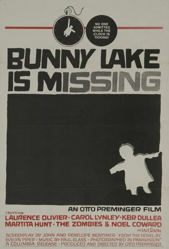 bunny lake is missing Saul bass, Saul bass posters