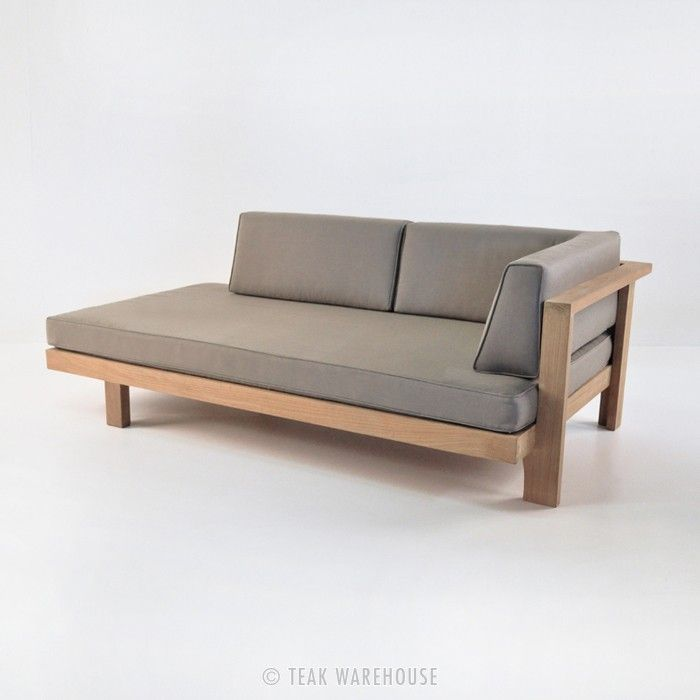 Teak Warehouse | Cabo Teak Daybed (Left)
