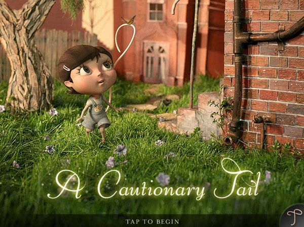 A Cautionary Tail - the app. Once again the film itself is stunning. I haven't shared this one with my kids... yet. I'm waiting until Fien is a bit older and better able to appreciate the message: celebrating our individuality despite pressure to conform. The story is refreshingly original and narrated in an Australian accent. I love this, and recommend it for anyone.