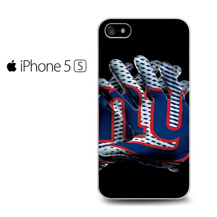 New York Giants Football Gloves Iphone 5 Iphone 5S Iphone SE Case