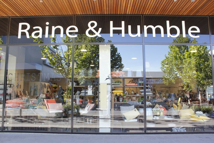 Our Raine & Humble Shop in Moonee Ponds would not be so specially without the wonderful people that work in the store & the great people that shop there.  Come into Raine & Humble and let us help you turn your has into a home.