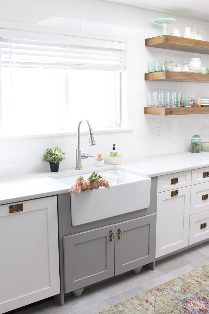 The Perfect Farmhouse Sink And Faucet