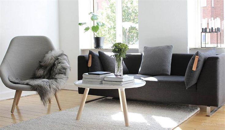 Mikkel Dahlstrøm - gennemført maskulin og nordisk stil på 63 m2