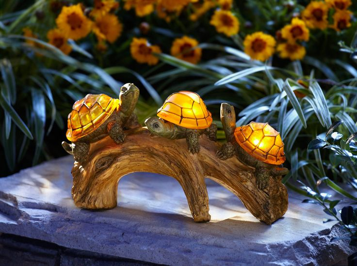 Turtle Solar Powered Outdoor Light