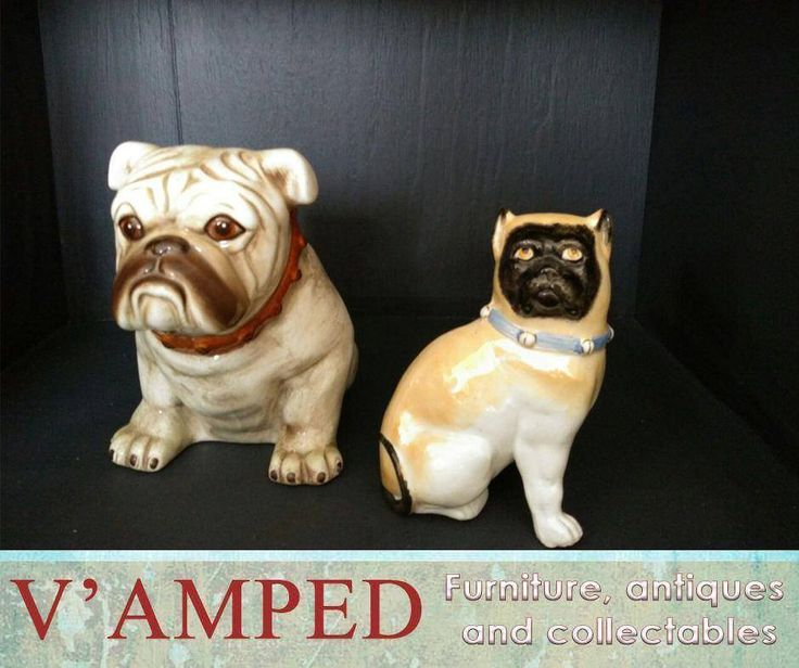 Get these adorable pugs, available from #VampedFurniture. Contact Rory on 076 983 4008 for more information. Delivery available nationwide on arrangement.