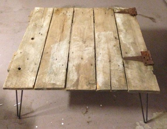 Barn Door Coffe Table Note NO SHIPPING on by FinishedRoomStudio, $275.00