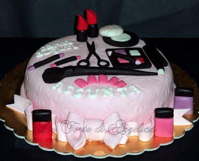 Emozioni in torte- Le torte di Angelica: Make up cake