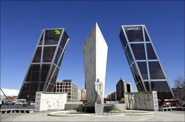 Foto Torres KIO de Madrid en Madrid