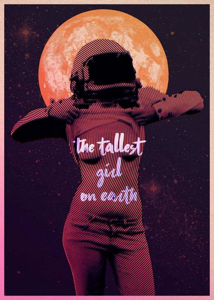 The Tallest Girl on Earth - Poster on Behance