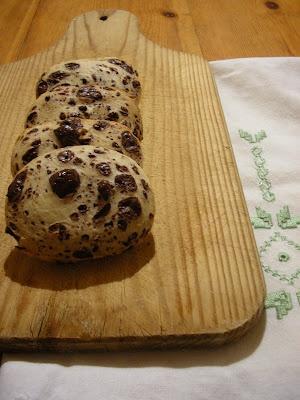 scarti :Biscotti con la pasta madre!