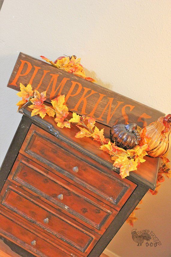 Pumpkin Sign, Pumpkins for Sale, Halloween Sign, Halloween Decor