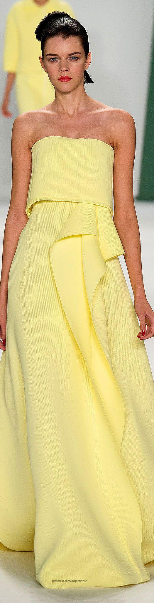 Farb-und Stilberatung mit www.farben-reich.com - Carolina Herrera Spring 2015 Ready-to-Wear