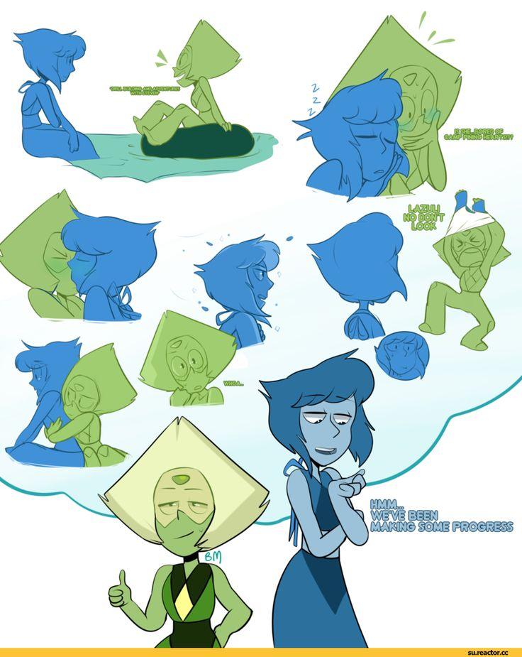 Steven universe,фэндомы,SU art,SU Персонажи,Lapis Lazuli,Peridot,Lapidot,SU Шиппинг,Blushmallet