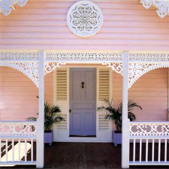 colonial carribean style home design
