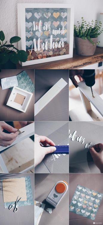 DIY Geldgeschenk zur Hochzeit im Ribba Rahmen – Tipps zum Geldsparen