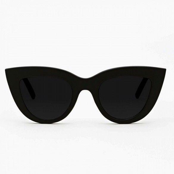 Quay Kitty Shades // super black cat-eye sunglasses