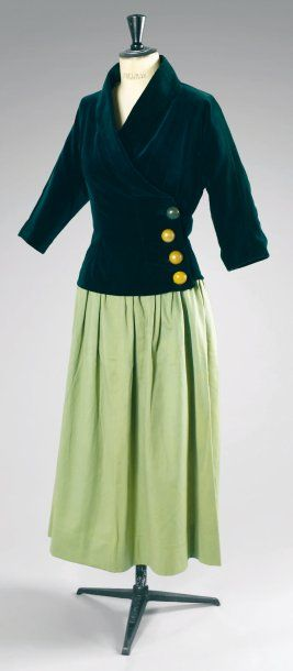Paul Poiret, ca 1920 Jacket and skirt, collection of Denise Poiret
