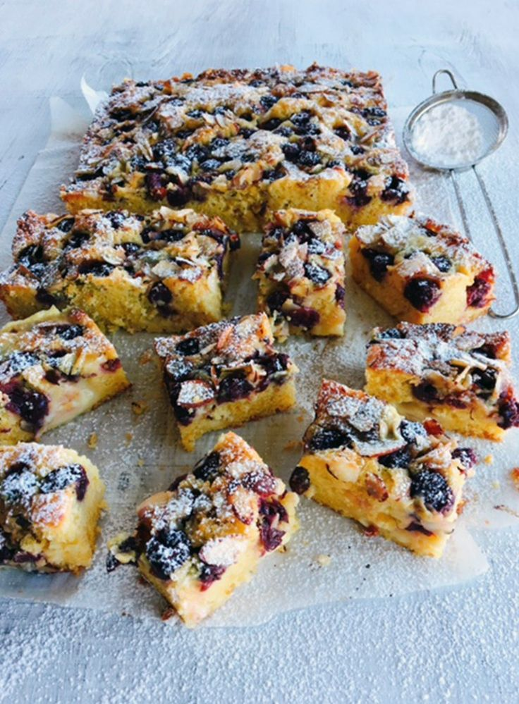 Top this gorgeously moist cake with fresh cherries or figs when in season. It's also delicious with sliced stone fruit such as peaches and apricots.