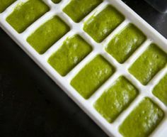 Handig: spinazie invriezen voor het maken van smoothies
