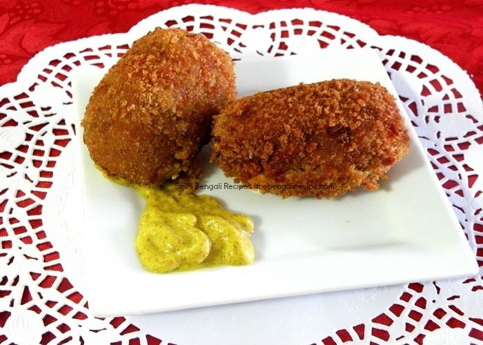 28 best bengali cuisine images on pinterest kitchens simple bengali recipe of calcutta style egg devil with spicy fish filling bengali dimer devil recipe forumfinder Images