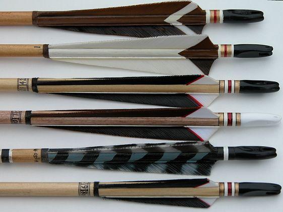 Trueflight Feathers Examples