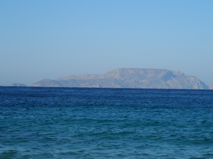 irakleia view from ios - agia theodoti