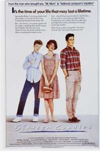 How fun would it be to have a movie marathon with Sixteen Candles, Pretty in Pink, Breakfast Club and St. Elmos Fire?