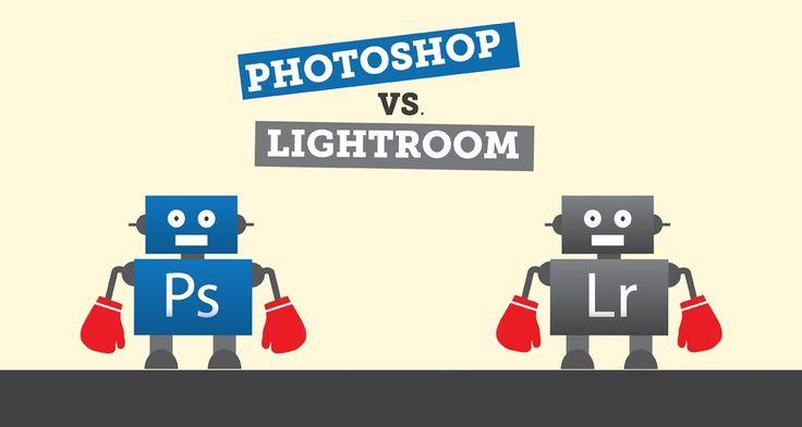 Битва титанов! Photoshop против Lightroom