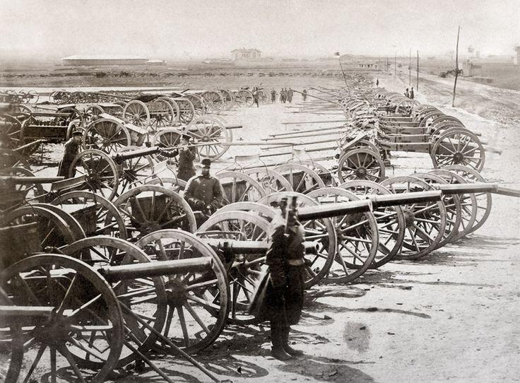 Записки скучного человека - Русские на Балканах 1878 Plovdiv Türk topları