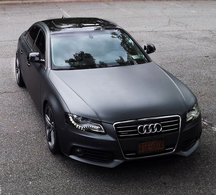 Audi B8 A4 Matte Grey Metallic   Plasti Dipped My Car