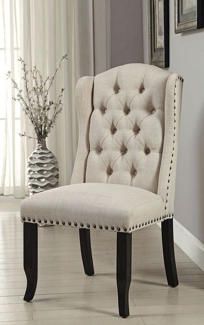 Furniture of America Sania I Dining Chair (set of 2) CM3324BK-SC-2PK