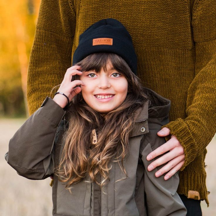 Winter and Fall Outfit for a Girl. Kiva 2.0 Merino Wool Beanie for Kids Kiva= Nice in Finnish. Kids like nice beanies too.