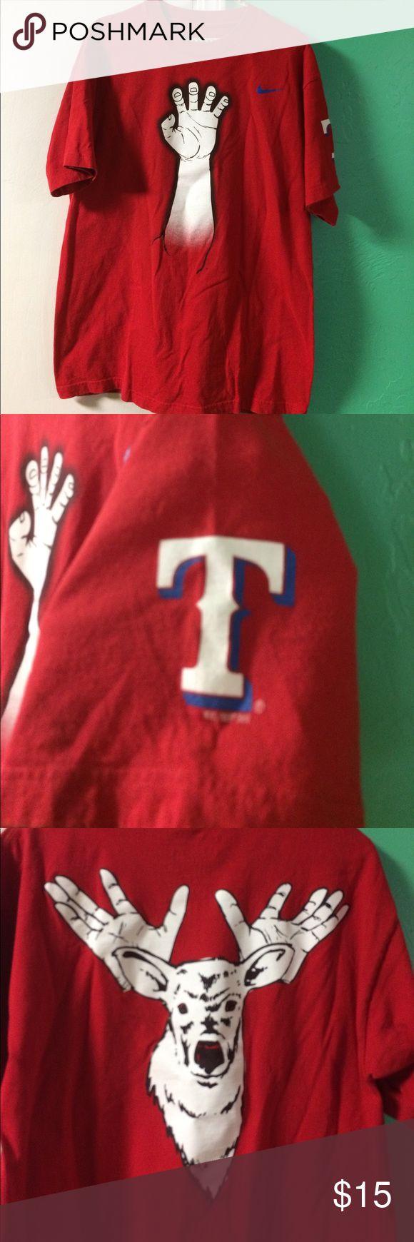 Texas Rangers shirt Nice quality Nike Texas Rangers shirt Nike Shirts Tees - Short Sleeve