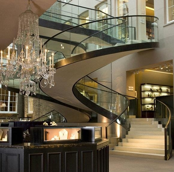 Stunning Staircase And Elevator Design Ideas: 26 Best Stairs And Elevators Images On Pinterest