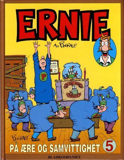"""""""Ernie 5 - på ære og samvittighet"""" av Bud Grace"""