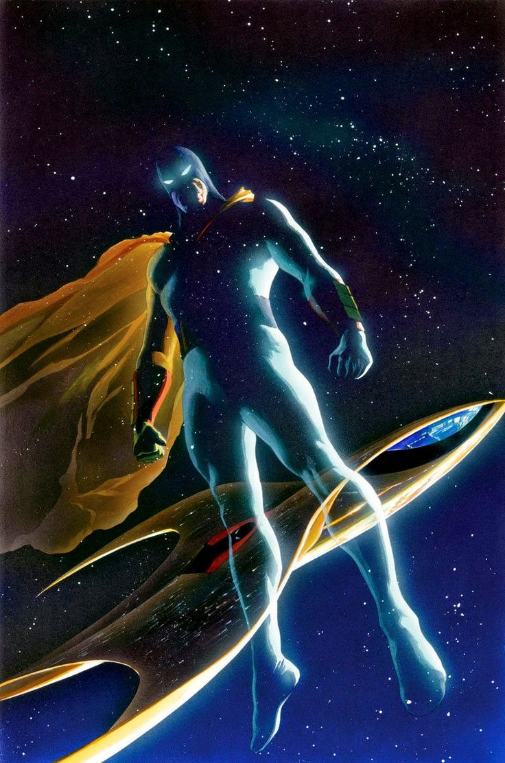 Images......: The Space Ghost. (Alex Ross.)