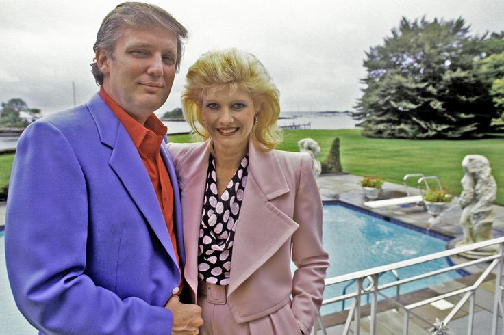 "It's Ivana Trump's fault that Donald didn't run for president sooner. ""Probably five years before our divorce, Reagan or somebody brought him a letter and said, 'You should run for president,' "" Do…"