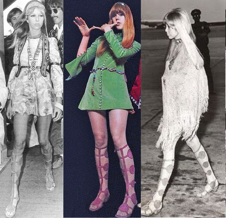 Pictures of the Boyd Sisters | fashion face-off: pattie boyd vs. jenny boyd